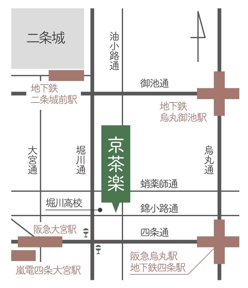 京茶楽地図